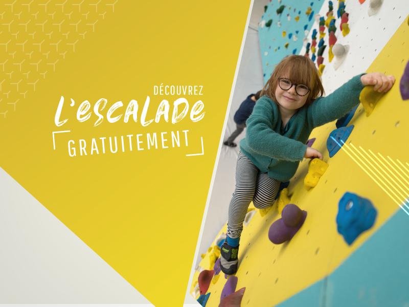 Cours d'essai gratuit dans les salles d'escalade à Climb Up Lille Wambrechies